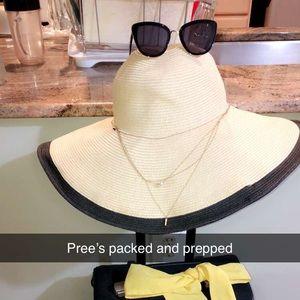 Nine west Floppy Beach Hat